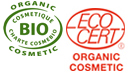 ecocert and cosmebio logos